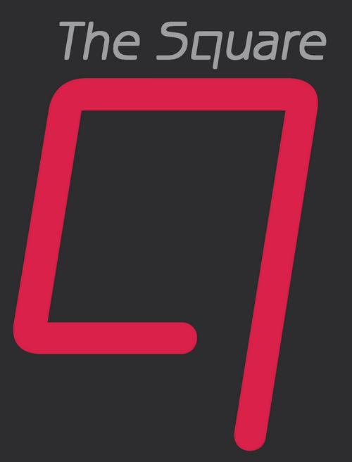 The Square logo fond foncé